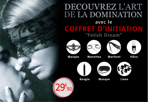 Coffret Fetish Dream Bdsm Soft