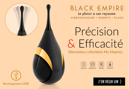 sextoys stimulateur clitoris vibromasseur black empire pas cher