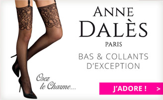 lingerie sexy bas collants Anne d'ales