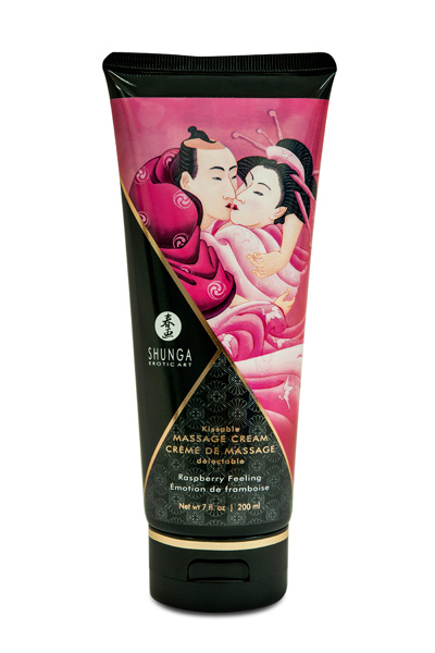 CREME DE MASSAGE SHUNGA EMOTION DE FRAMBOISE
