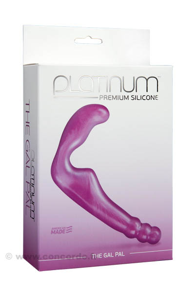 DOUBLE GODE SILICONE FEMME HOMME