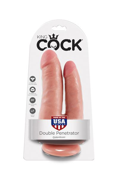 GODE REALISTE DOUBLE KING COCK