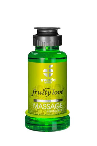HUILE DE MASSAGE FRUITY LOVE CACTUS LIME 100 ML