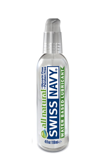 LUBRIFIANT SWISS NAVY ALL NATURAL 118ML