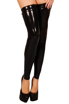 Bas legging latex