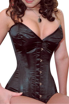 Corset silhouette 6 attaches