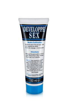 Creme developpante developpe sexe 50ml
