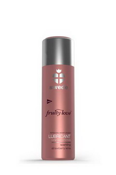 Lubrifiant fruity love vin petillant fraise 100ml