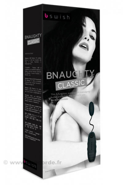 OEUF VIBRANT BNAUGHTY CLASSIQUE