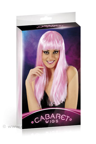 PERRUQUE CABARET ROSE