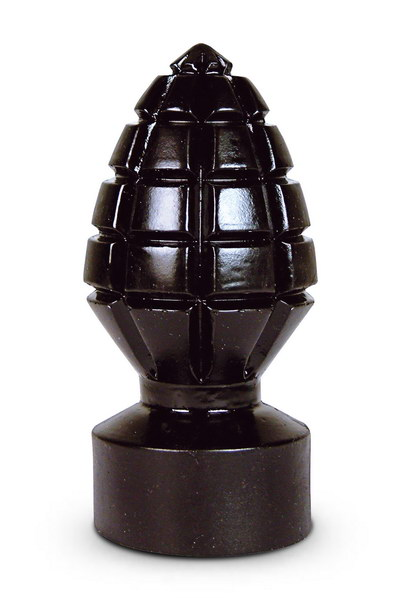 PLUG GEANT GRENADE ALL BLACK 15CM