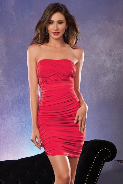 ROBE SEXY ROUGE 6 STYLE IN 1