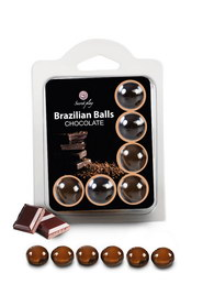 Boules bresiliennes aromatisees chocolat  x6