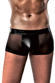 boxer-passion-homme-transparent-noir