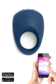 Cockring vibrant connecté we-vibe pivot bleu