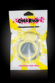 COCRKING VIBRANT PHOSPHORESCENT CHILLS RINGS JAUNE