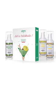 COFFRET DE 3 HUILES DE MASSAGE EXSENS CELEBRATE