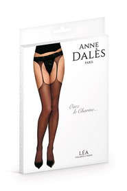 COLLANT ANNE D'ALES JARRETELLES LEA NOIR