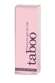 GEL D'EXCITATION CLITORIS TABOO 30ML