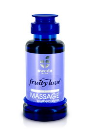 Huile de massage fruity love myrtille cassis 100ml