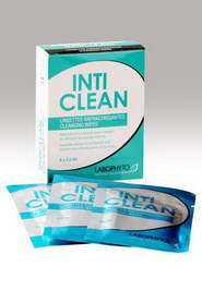 Lingettes nettoyantes inti clean