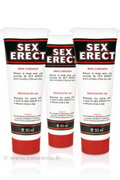 LOT DE 3 SEX ERECT