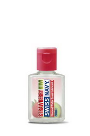 Lubrifiant swiss navy comestible fraise kiwi 20ml