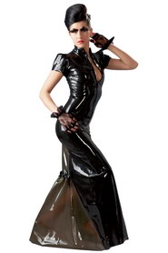 Robe fetish dream latex noire