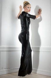 ROBE LONGUE LATEX
