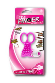 STIMULATEUR CLITORIS NMC THE FINGER VIBRANT