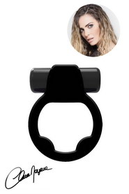 Super vibra ring noir clara morgane