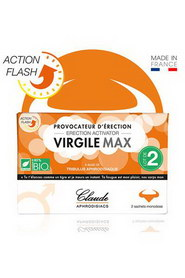 Virgile max aphrodisiaque claude paris 2 sachets