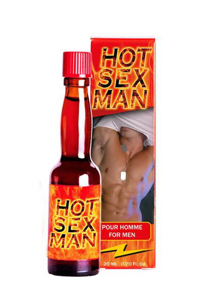 STIMULANT LIQUIDE HOT SEX MAN 20ML